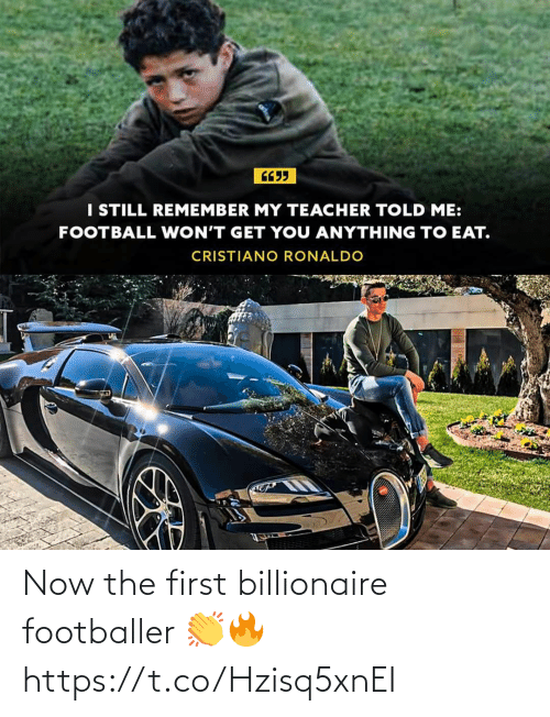 The First: Now the first billionaire footballer 👏🔥 https://t.co/Hzisq5xnEI