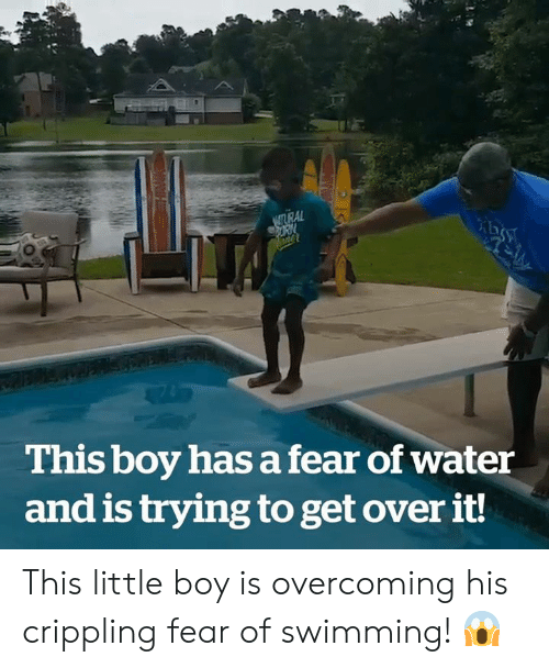 Water, Fear, and Swimming: NSTURAL  This boy has a fear of water  and is trying to get over it! This little boy is overcoming his crippling fear of swimming! 😱
