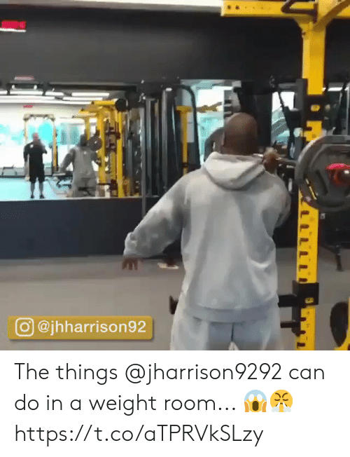 Memes, 🤖, and Can: O @jhharrison92 The things @jharrison9292 can do in a weight room... 😱😤 https://t.co/aTPRVkSLzy