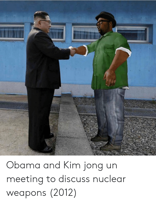 Nuclear Weapons: Obama and Kim jong un meeting to discuss nuclear weapons (2012)