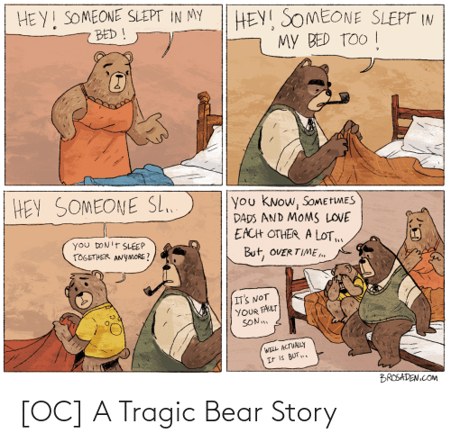 Bear: [OC] A Tragic Bear Story