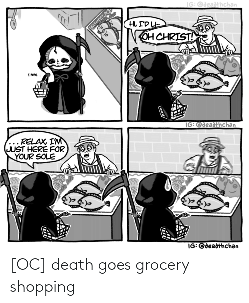 Shopping: [OC] death goes grocery shopping