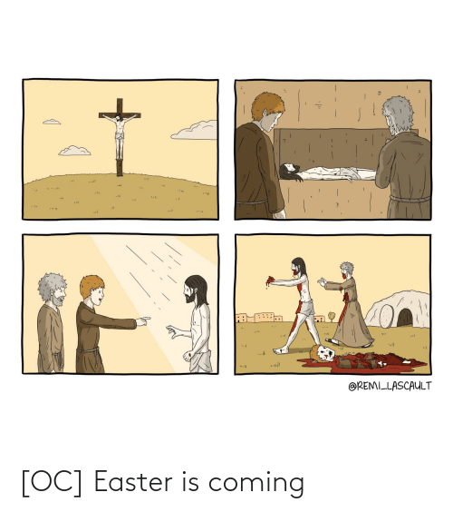 Easter: [OC] Easter is coming