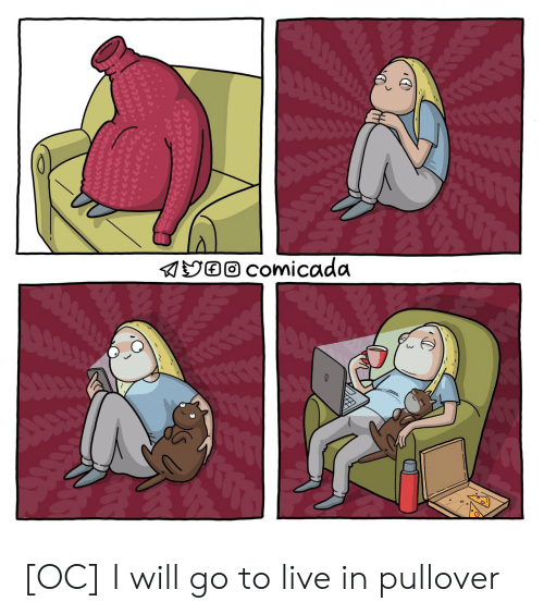 I Will Go: [OC] I will go to live in pullover