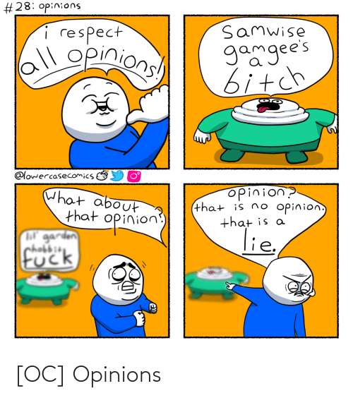 opinions: [OC] Opinions