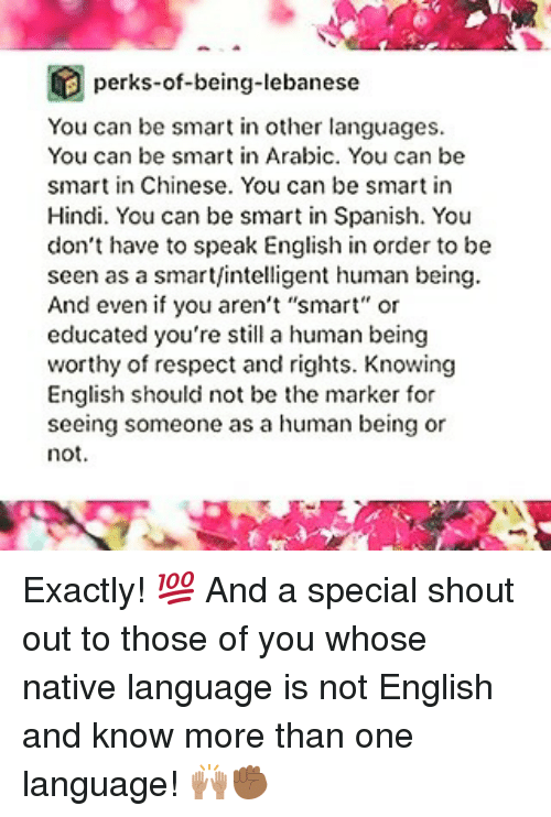 people whose native language is not Learn to write better as a non native english speaker  knowing almost nothing  about the language to now where my writing is being read by thousands of  people every month  i'm sure you know someone who is better at english than  you.