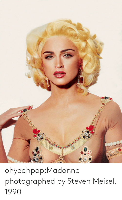 Steven: ohyeahpop:Madonna photographed by Steven Meisel, 1990