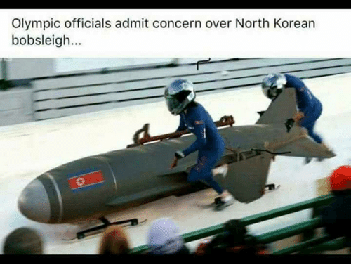 Korean, Olympic, and North Korean: Olympic officials admit concern over North Korean  bobsleigh...