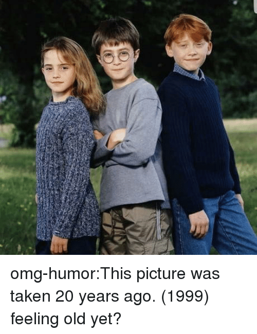 Feeling Old: omg-humor:This picture was taken 20 years ago. (1999) feeling old yet?