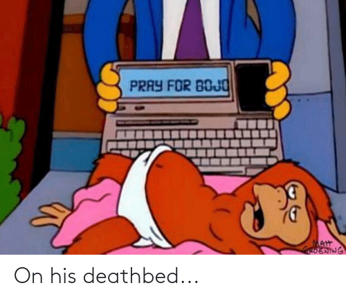Conservative Memes: On his deathbed...
