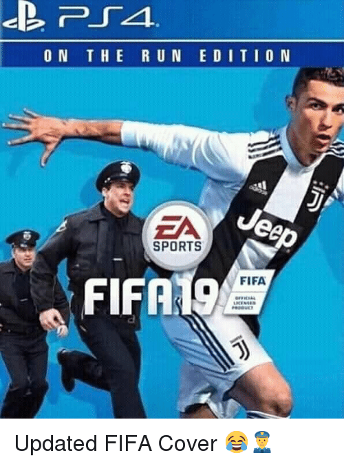 Fifa, Memes, and Sports: ON THE R U N ED I TIO N  ZA  SPORTS  , FIFA19  FIFA Updated FIFA Cover 😂👮‍♂️