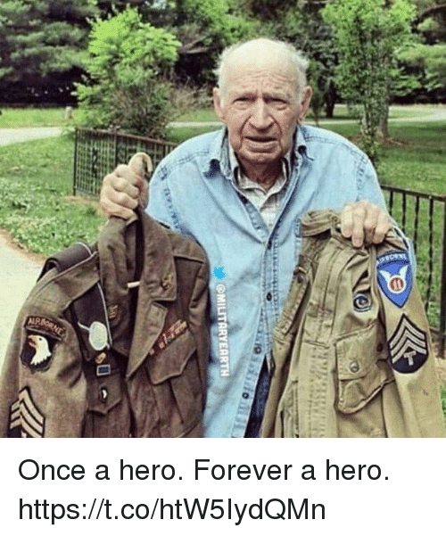 Memes, Forever, and 🤖: Once a hero. Forever a hero. https://t.co/htW5IydQMn