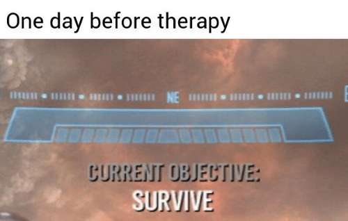 One, One Day, and Day: One day before therapy  NE I  じURREIT UBJEじTIYE:  SURVIV