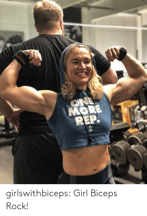 Rep: ONE  MORE  REP. girlswithbiceps:  Girl Biceps Rock!