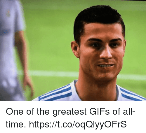 Soccer, Gifs, and Time: One of the greatest GIFs of all-time. https://t.co/oqQlyyOFrS