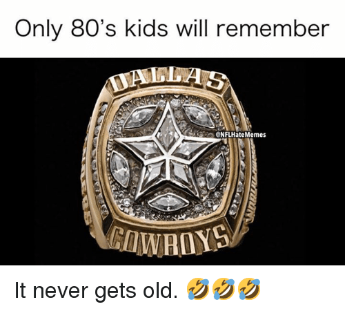 80s, Nfl, and Kids: Only 80's kids will remember  @NFLHateMemes It never gets old. 🤣🤣🤣