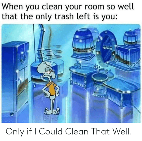 I Could: Only if I Could Clean That Well.