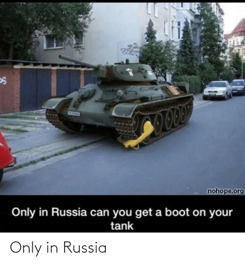 Russia: Only in Russia