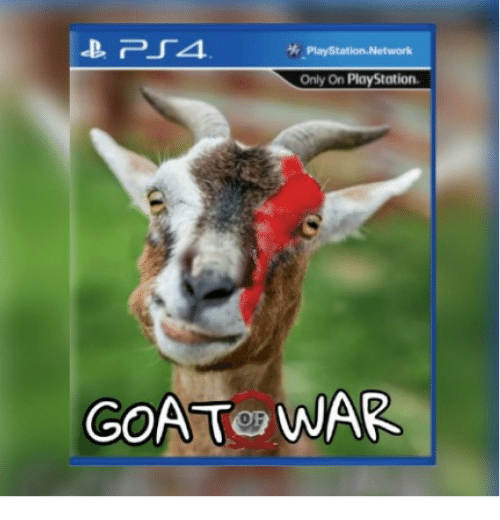 PlayStation, Goat, and War: Only On PlayStation  GOAT WAR