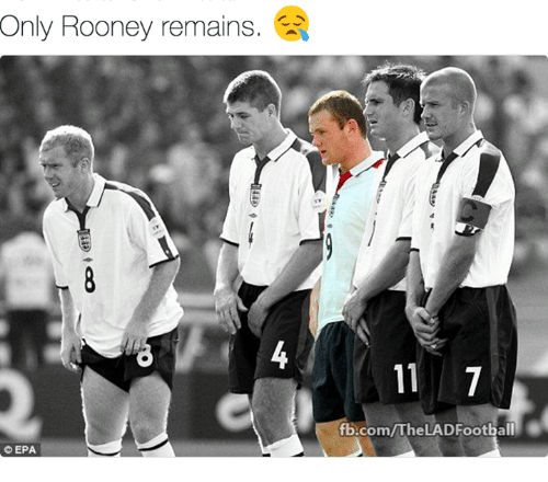 epa: Only Rooney remains  EPA  fb.com/The LADFootball
