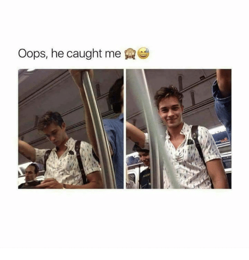 Memes, 🤖, and Oops: Oops, he caught me
