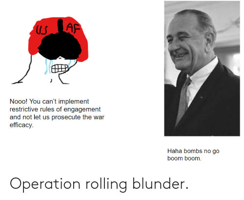 rolling: Operation rolling blunder.