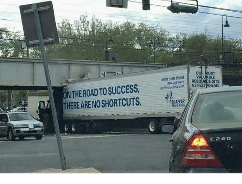 Dank, Success, and The Road: OUR MOST  JOIN OUR TEAM  N THE ROAD TO SUCCESS,AH: 2BE A  THERE ARE NOSHORTCUTS  900869 0322 RES  SHAFFER  TRUCKING