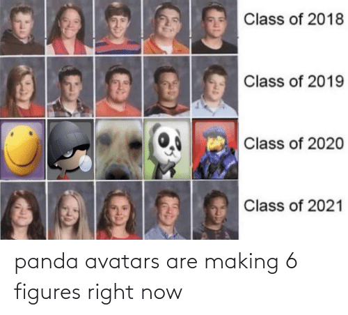 figures: panda avatars are making 6 figures right now