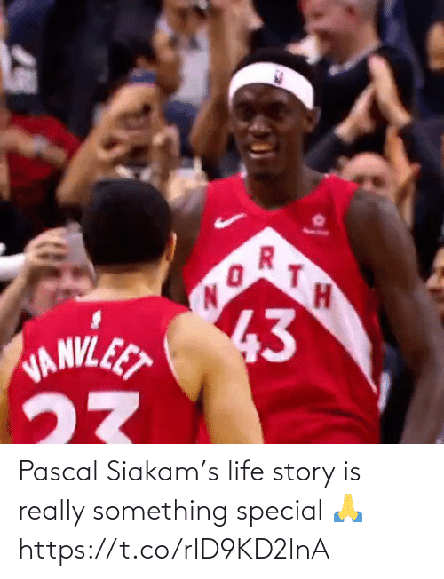 story: Pascal Siakam's life story is really something special 🙏 https://t.co/rID9KD2lnA