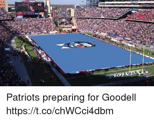 Goodell: Patriots preparing for Goodell https://t.co/chWCci4dbm