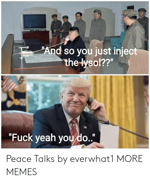 Peace: Peace Talks by everwhat1 MORE MEMES