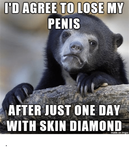 skin diamond: PENIS  AFTER JUST ONE DAY  WITH SKIN DIAMOND  made on imgur