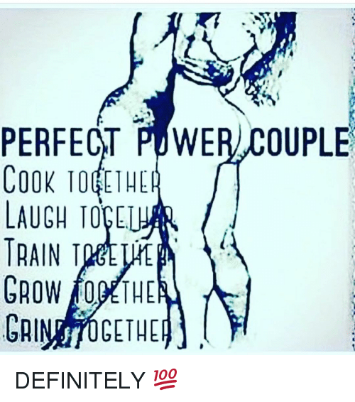 Memes, 🤖, and Ott: PERFECT POWER,COUPLE  COOK TO THE  LAUGH TOCCUR  TRAIN TMtLME  GROW f0DETHE  GRIN 70GETHEp」  TILL/TI TI  l000 T, 和  OTT  KC IN  ROUA0  101  AO  E0AR  CARRI  PCLTCC DEFINITELY 💯