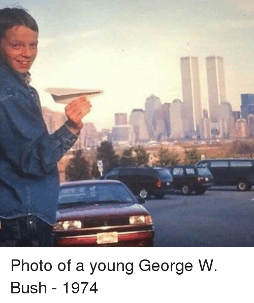 George W. Bush, Bush, and Photo: Photo of a young George W. Bush - 1974