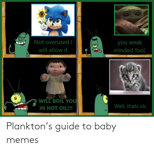 baby memes: Plankton's guide to baby memes