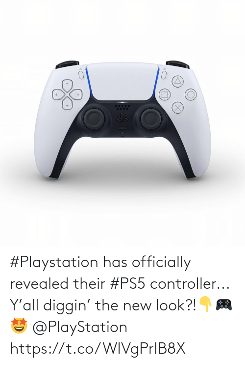controller: #Playstation has officially revealed their #PS5 controller... Y'all diggin' the new look?!👇🎮🤩 @PlayStation https://t.co/WIVgPrIB8X