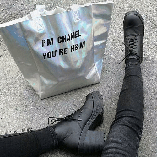 Chanel, H&m, and Youre: PM CHANEL  YOU'RE H&M