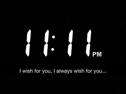 You, For, and Always: PM  I wish for you, I always wish for you