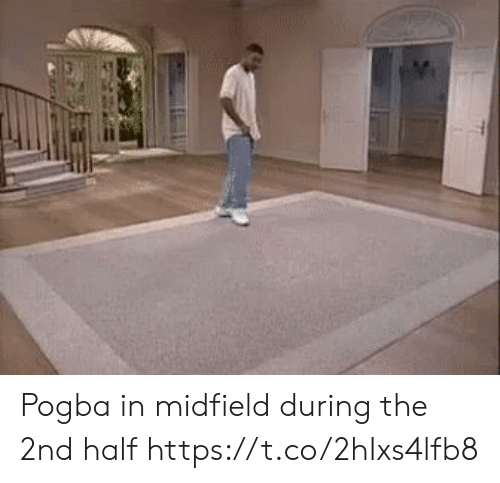 pogba: Pogba in midfield during the 2nd half https://t.co/2hIxs4lfb8