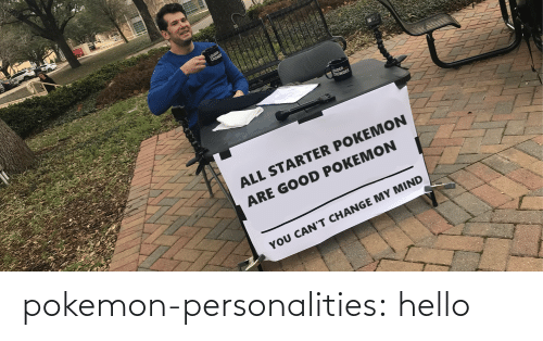 Pokemon: pokemon-personalities:  hello