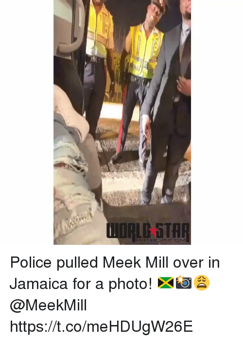 meek: Police pulled Meek Mill over in Jamaica for a photo! 🇯🇲📸😩 @MeekMill https://t.co/meHDUgW26E
