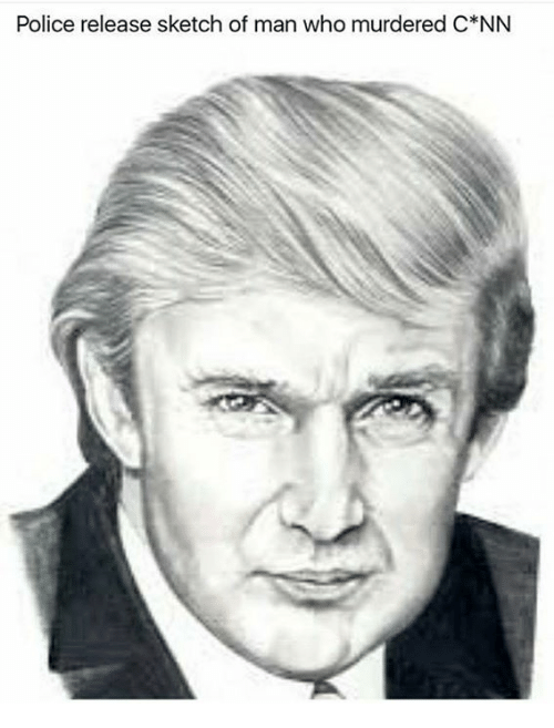 Police, Who, and Man: Police release sketch of man who murdered C*NN