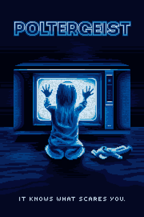 Poltergeist and What: POLTERGEIST  IT KHOWS WHAT SCARESYOU