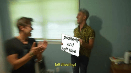 Elf, Love, and All: positivity  and  elf love  all cheering]