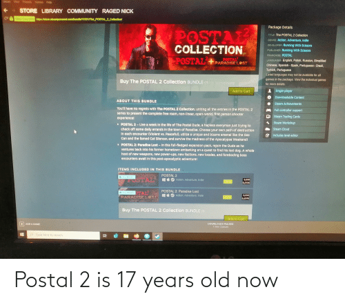 17 years: Postal 2 is 17 years old now
