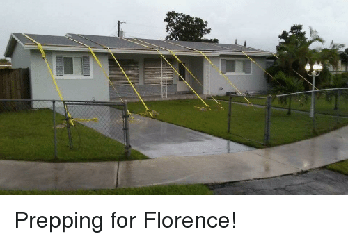 Florence, For, and Prepping: Prepping for Florence!