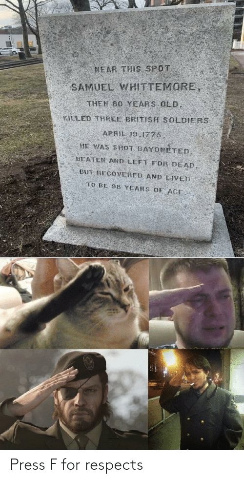 Respects: Press F for respects