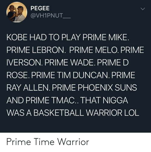 warrior: Prime Time Warrior