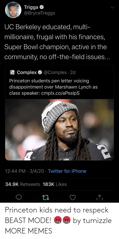 princeton: Princeton kids need to respeck BEAST MODE! 🤬🤬 by tumizzle MORE MEMES