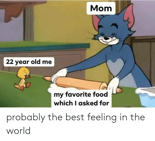probably: probably the best feeling in the world